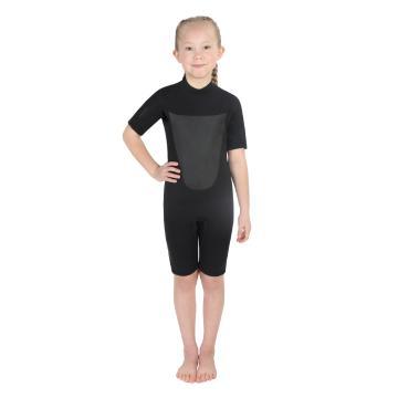 Torpedo7 Junior Girl's Evo 2/2 Spring Suit - 2/8 Years - Black/Black