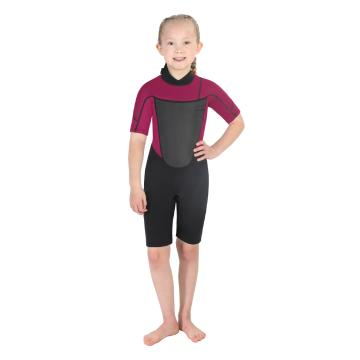 Torpedo7 Junior Girl's Evo 2/2 Spring Suit - 2/8 Years - Black/Pink