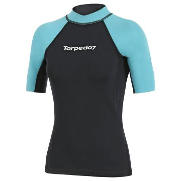 Torpedo7 Women's Gamma Short Sleeve Wetsuit Top - 2mm
