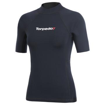 Torpedo7 Women's Gamma Short Sleeve Wetsuit Top - 2mm