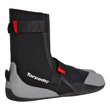 Torpedo7 Men's Surf Booties - 3mm - Black/Cool Grey