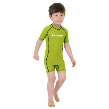 Torpedo7 Junior Reef Rash Suit - 2/8 Years - Yellow