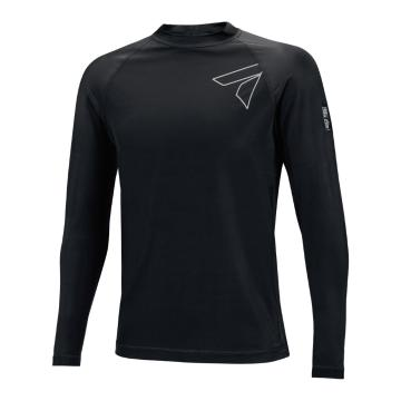 Torpedo7 Men's Razor Long Sleeve Rash Top - Black