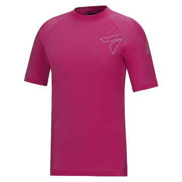 Torpedo7 Women's Mystic Short Sleeve Rash Top - Fuschia