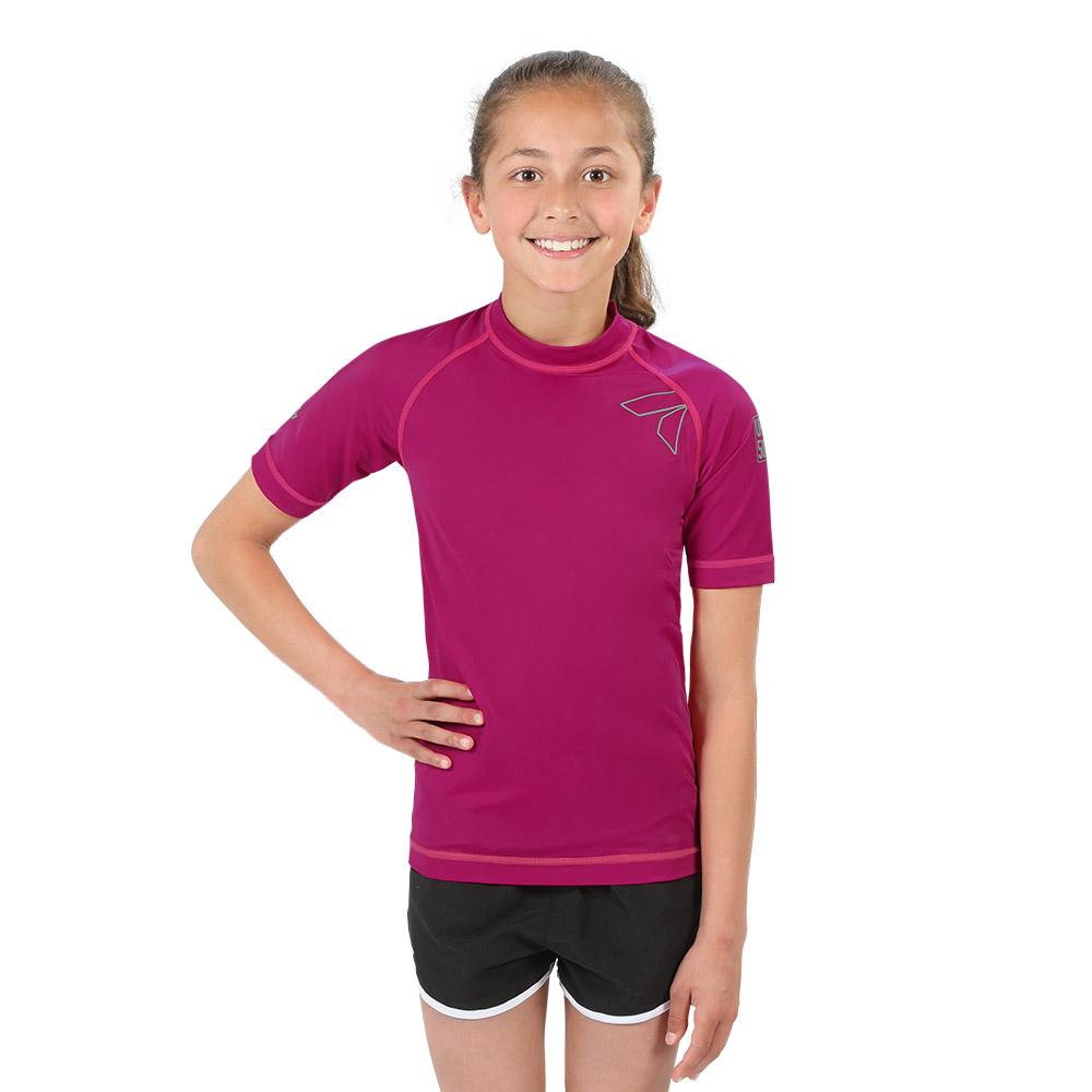 Girl's Mystic Short Sleeve Rash Top - 8/16 Years