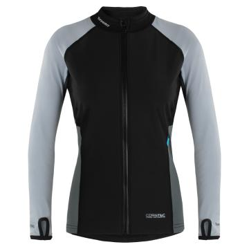 Torpedo7 Women's Coretec Jacket - Black/Cool Grey
