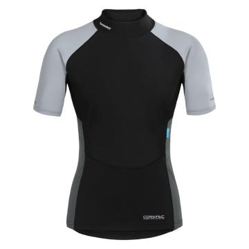 Torpedo7 Women's Coretec Tee - Black/Cool Grey