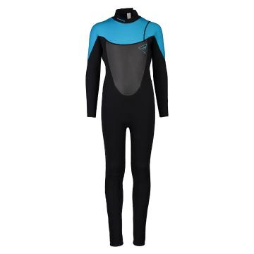 Torpedo7 Youth Girls Evo 3.2 Long Sleeve Steamer Wetsuit - Black/Teal