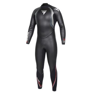 Torpedo7 Men's TR2 Triathlon Wetsuit - Black