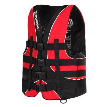 Torpedo7 Adult Revert II Nylon Wake Vest - Red/Black