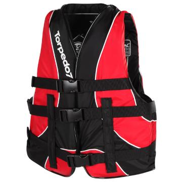 Torpedo7 Youth Revert II Nylon Wake Vest - Red/Black