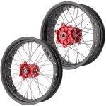 Torpedo7 Supermoto Wheel Set Honda XR 3.5*17/5.0*17 Cush Dr