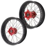 Torpedo7 Supermoto CNC Wheel Set - Honda XR 3.50x17/5.00x17