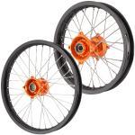 Orange Hub/Black Rim