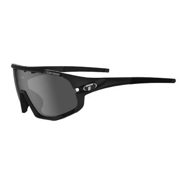 Tifosi 2020 Men's Sledge Sunglasses - MatteBlack,Smoke/ACRed/Clear