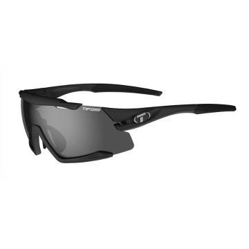 Tifosi 2020 Men's Aethon Sunglasses - Matt Black, Smoke/ACRed/Clear - MatteBlack,Smoke/ACRed/Clear