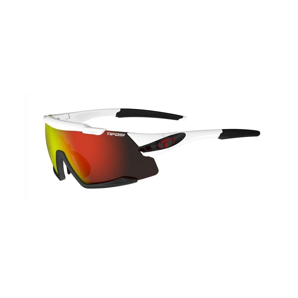 Men's Aethon Sunglass - White/Black, ClarionRed/ACRed/Clear