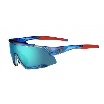 Tifosi Men's Aethon Sunglasses - CrystlBlu,ClarionBlu/ACRed/Clr