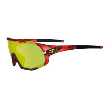 Tifosi 2021 Sledge Sunglasses - Crystal Red Clarion Yellow