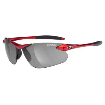 Tifosi Seek FC Sunglasses - Metallic Red, Smoke Lens