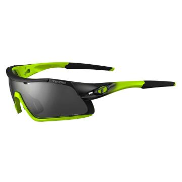 Tifosi Davos Sunglasses - Race Neon/Smoke/AC Red/Clear L