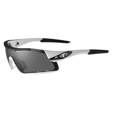 Tifosi Davos Sunglasses - White/Blk/Smoke/AC Red/Clear L