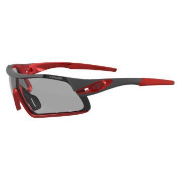 Tifosi Davos Sunglasses - Race Red/Smoke Fototec Lens