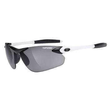 Tifosi Seek Sunglasses - White/Black/Smoke Fototec Lens
