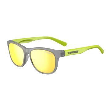 Tifosi Swank Sunglasses - Vapor/Neon, Smoke Yellow Lens