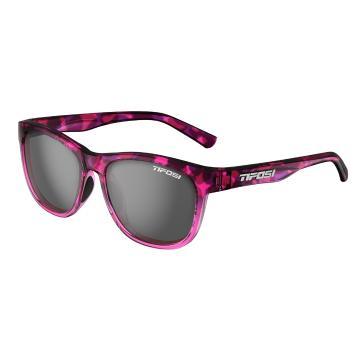 Tifosi Swank Sunglasses - Pink Confetti, Smoke Lens
