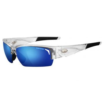 Tifosi Lore Sunglasses - Crystal Clear with Spare Lenses - Crystal Clr, Cl Blue/AC Rd/Clr