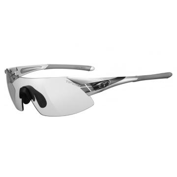 Tifosi Podium XC Sunglasses - Silver/Gunmet, Light Night Fototec Lens