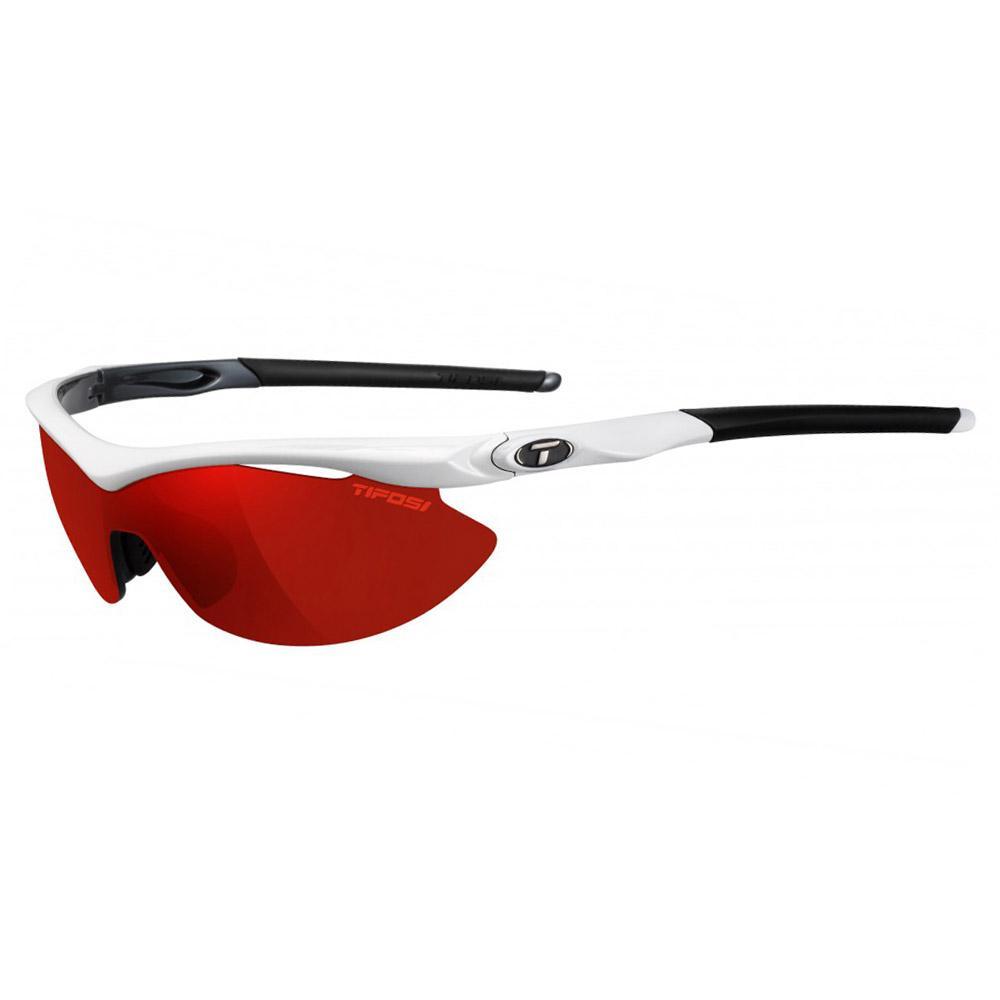 Slip Sunglasses - White/Gunmetal with Spare Lenses