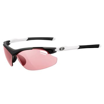 Tifosi Tyrant 2.0 Sunglasses - Black/White, High Speed Red Fototec Lens