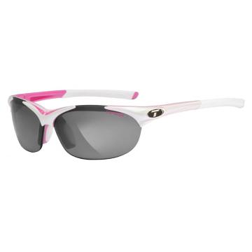 Tifosi Wisp Sunglasses - Race Pink with Spare Lenses - Race Pink, Smoke/AC Red/Clear