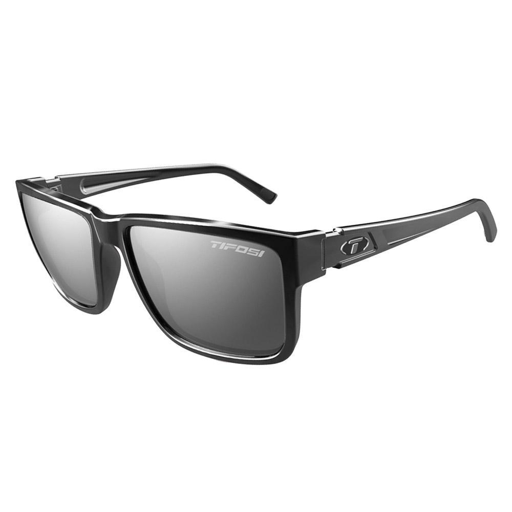 Hagen XL Sunglasses - Gloss Black, Smoke Lens
