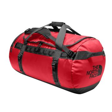The North Face Base Camp Duffel Bag - 95L - TNF Blk/TNF Red