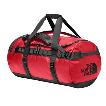 The North Face Base Camp Duffel Bag - 71L - TNF Blk/TNF Red