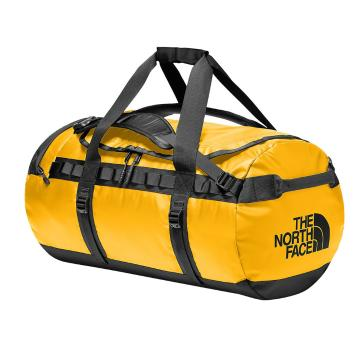 The North Face Base Camp Duffel Bag - 71L - Summit Gold/TNF Black