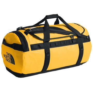 The North Face Base Camp Duffel Bag - 95L - Summit Gold/TNF Black