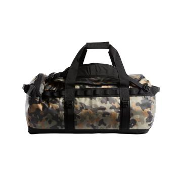 The North Face Base Camp Duffel Bag - New Taupe Grn Macro Camo/TNF B