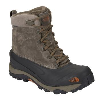 The North Face 2018 Men's Chilkat III Winter Boots - Mudpack Brown/Bombay Orange