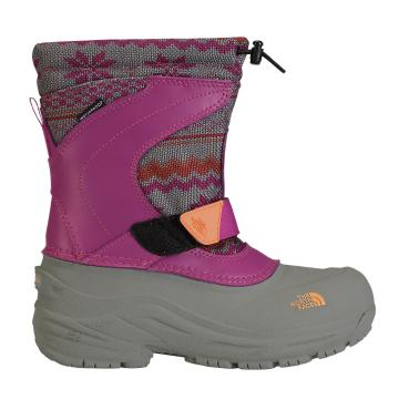 The North Face Girl's Alpenglow Pull-On Snow Boots