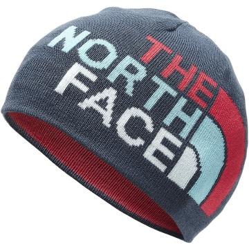 The North Face Youth Anders Beanie - BlueWingTeal/AtomicPinkMulti