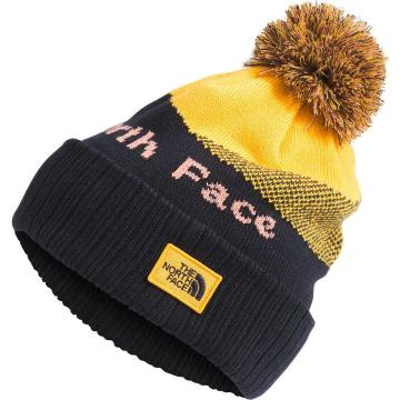 The North Face Recycled Pom Pom Beanie - Aviator Navy
