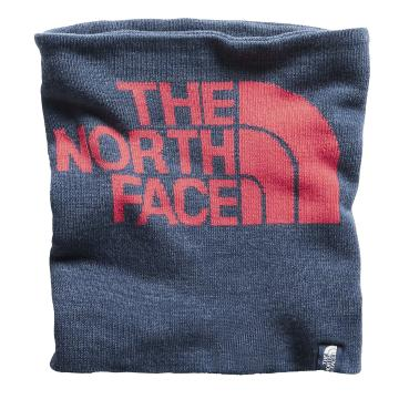 The North Face Youth Neck Gaiter - BluWingTealHeather/AtomicPink