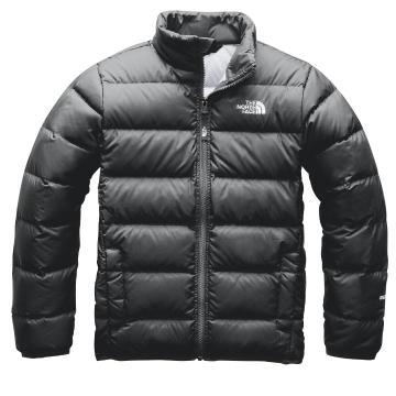 The North Face Boys' Andes Jacket - Asphalt Grey