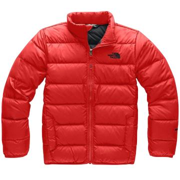 The North Face Boys' Andes Jacket - Fiery Red/TNF Black