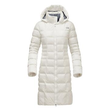The North Face Women's Metropolis II Down Parka - Vintage White
