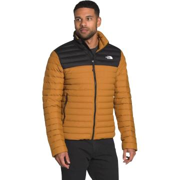 The North Face Men's Stretch Down Jacket - Timber Tan/TNF Black